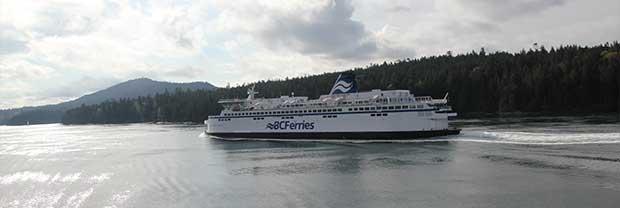 BC Ferries, båt från Vancouver till Vancouver Island